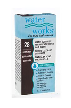 Water Works® Water Activated Permanent Powder Hair Color - #28 Burgundy