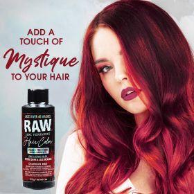 Raw Demi-Permanent Hair Color, Crimson Red, 4 fl oz.