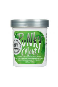 Punky Colour, Semi-Permanent Conditioning Hair Color, Spring Green, 3.5 fl oz