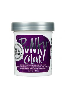 Punky Colour, Semi-Permanent Conditioning Hair Color, Purple, 3.5. fl oz
