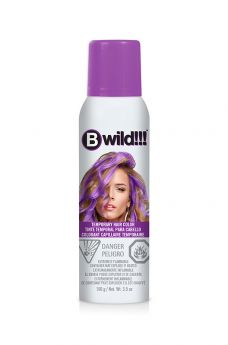B Wild Temporary Hair Color Spray - Panther Purple