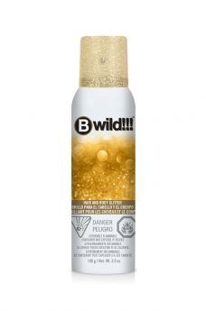 B Wild Hair and Body Glitter - Gold