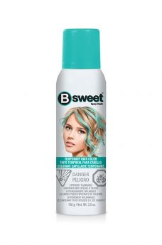 B Sweet Temporary Hair Color Spray - Perfectly Peacock
