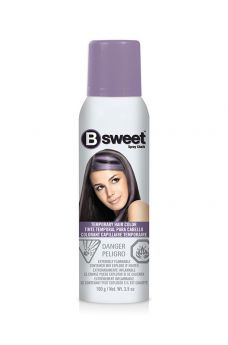 B Sweet Temporary Hair Color Spray - Lush Lilac
