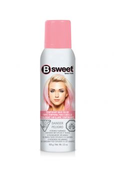 B Sweet Temporary Hair Color Spray - Pale Pink