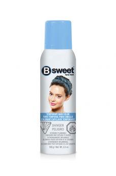 B Sweet Temporary Hair Color Spray - Misty Blue