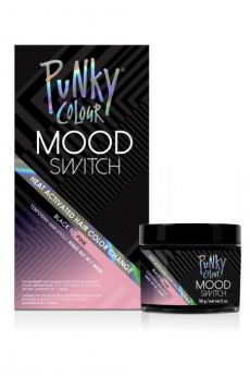 Mood Switch Heat-Activated Temporary Hair Color - Black to Pink