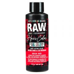 Raw Demi-Permanent Hair Color, Neon Red, 4 fl oz.