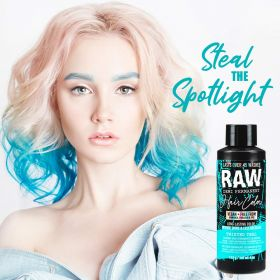 Raw Demi-Permanent Hair Color, Twisted Teal, 4 fl oz.