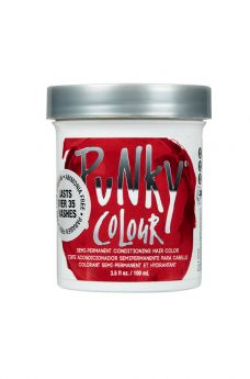 Punky Colour, Semi-Permanent Conditioning Hair Color, Vermillion Red, 3.5 fl oz