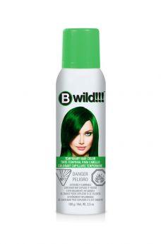 B Wild Temporary Hair Color Spray - Jaguar Green
