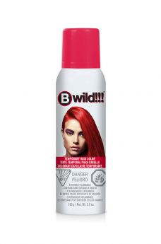B Wild Temporary Hair Color Spray - Cougar Red