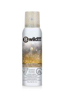 B Wild Hair and Body Glitter - Gold/Silver