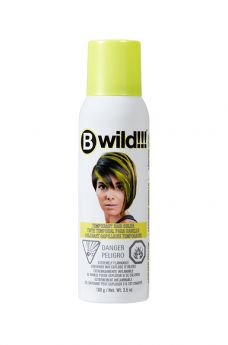 B Wild Temporary Hair Color Spray - Leopard Yellow