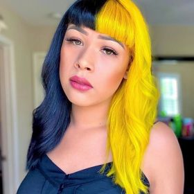 Punky Colour, Semi-Permanent Conditioning Hair Color, Bright Yellow, 3.5 fl oz