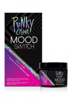 Mood Switch Heat-Activated Temporary Hair Color - Purple to Pink