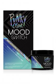 Mood Switch Heat-Activated Temporary Hair Color - Blue to Teal
