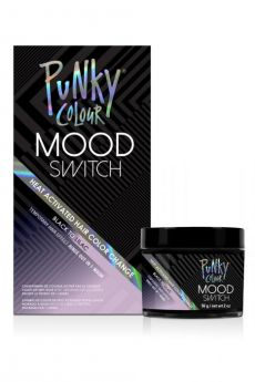 Mood Switch Heat-Activated Temporary Hair Color - Black to Lilac