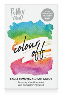 Colour Off Hair Color Remover for Semi-Permanent and Demi-Permanent Color - Complete Kit
