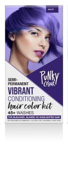 Punky Colour Semi-Permanent Hair Color Kit, Violet