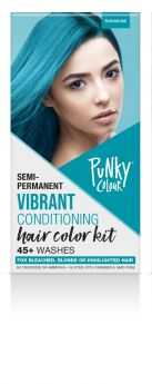 Punky Colour Semi-Permanent Hair Color Kit, Turquoise