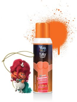 Punky Colour x Trolls, B Wild Temporary Hair Color Spray, Twangy Tangerine (Orange)