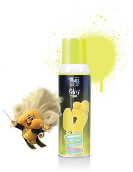 Punky Colour x Trolls, B Wild Temporary Hair Color Spray, Sunny Symphony (Yellow), 3.5 oz