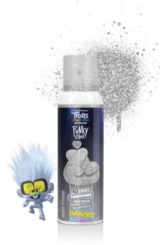 Punky Colour x Trolls, B Wild Hair and Body Glitter, Silver Springs, 3.5 oz